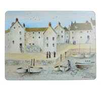 Creative Tops Cornish Harbour Pack Of 6 Premium Placemats