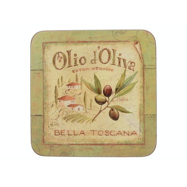 Creative Tops Olio D Oliva Pack Of 6 Premium Coasters