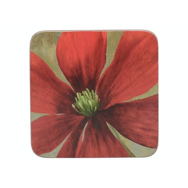 Creative Tops Flower Study Pack Of 6 Premium Coasters
