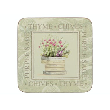 Creative Tops Topiary Pack Of 6 Premium Coasters