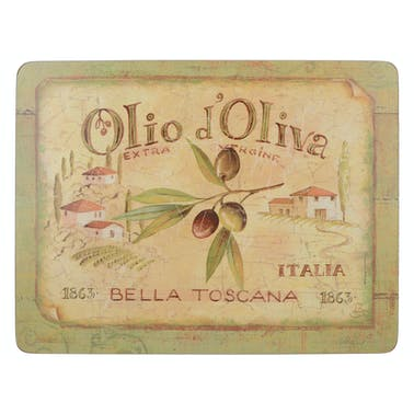 Creative Tops Olio D Oliva Pack Of 6 Premium Placemats