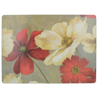 Creative Tops Flower Study Pack Of 6 Premium Placemats