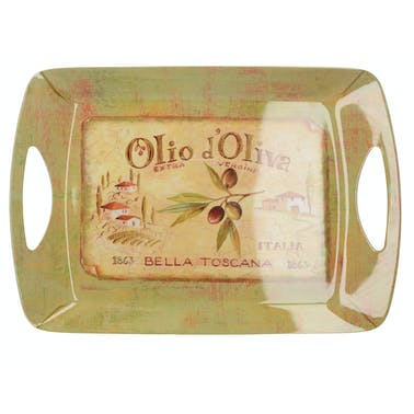 Creative Tops Olio Doliva Large Handled Tray