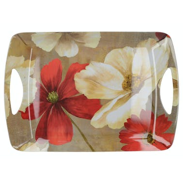 Creative Tops Flower Study Large Handled Tray