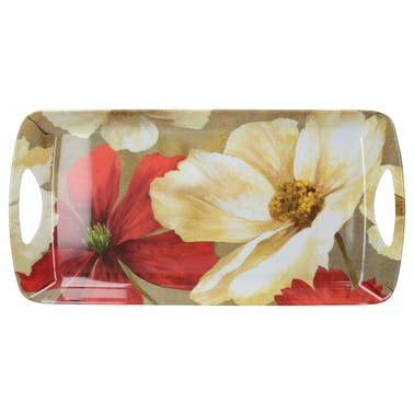 Creative Tops Flower Study Small Handled Tray