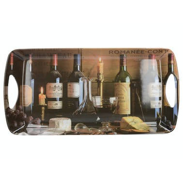 Creative Tops Vintage Wine Large Handled Tray