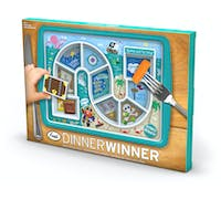 Fred Dinner Winner Pirate Kid's Dinner Tray