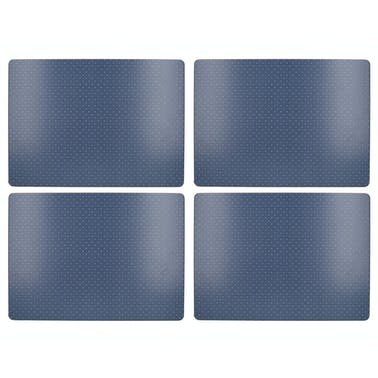 Katie Alice Vintage Indigo Pack Of 4 Large Premium Placemats