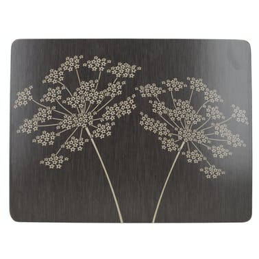 Creative Tops Silhouette Pack Of 6 Premium Placemats