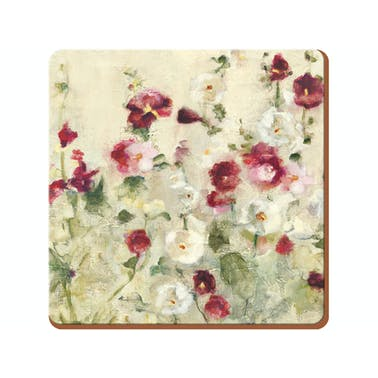 Creative Tops Wild Field Poppies Pack Of 6 Premium Coasters
