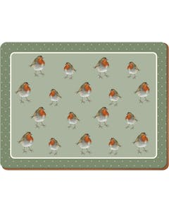 Photo of Creative Tops Into The Wild Robin Pack Of 4 Large Premium Placemats