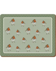 Photo of Creative Tops Into The Wild Robin Pack Of 6 Premium Placemats