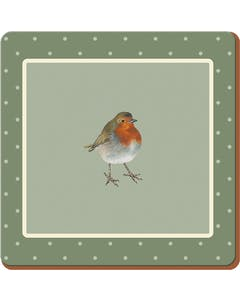 Photo of Creative Tops Into The Wild Robin Pack Of 6 Premium Coasters