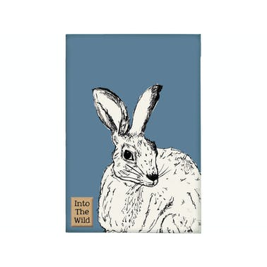 Creative Tops Into The Wild Hare Tea Towel