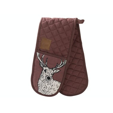 Creative Tops Into The Wild Stag Double Oven Glove