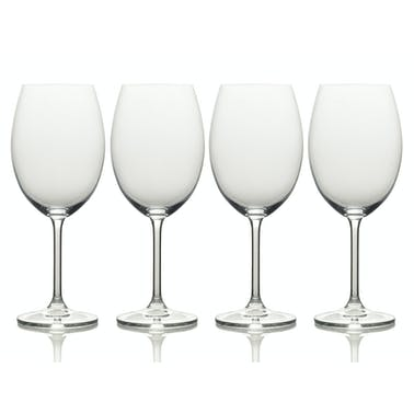 Mikasa Julie Set Of 4 16.5Oz White Wine Glasses