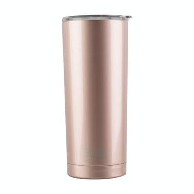 Built 590ml Double Walled Stainless Steel Travel Mug Rose Gold