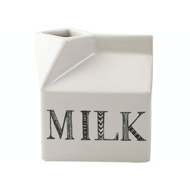 Creative Tops Stir It Up Mini Milk Carton White