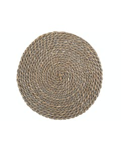 Photo of Creative Tops Naturals Greywash Round Mat
