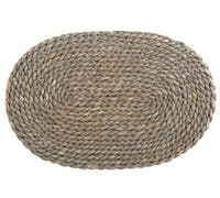 Creative Tops Naturals Greywash Oval Serve Mat