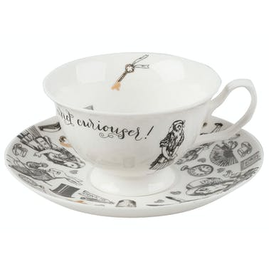 Victoria And Albert Alice In Wonderland Cup And Saucer