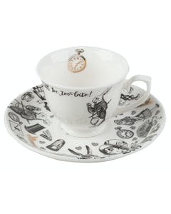 Photo of Victoria And Albert Alice In Wonderland Espresso Cup And Saucer