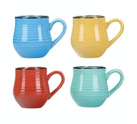 La Cafetiere Core Brights Colour Set Of 4 Espresso Mugs
