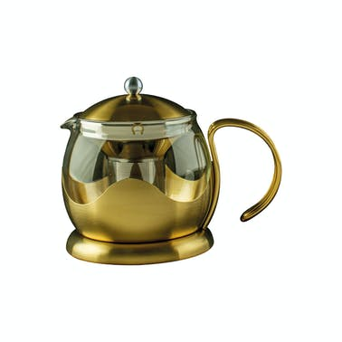 La Cafetiere Edited Two Cup Le Teapot Brushed Gold
