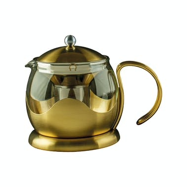 La Cafetiere Edited Four Cup Le Teapot Brushed Gold