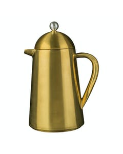 Photo of La Cafetiere Edited Thermique Double Walled 8 Cup Cafetiere Brushed Gold