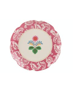 Photo of Katie Alice Festival Folk Side Plate Pink