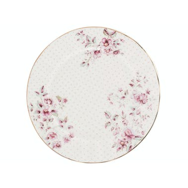 Katie Alice Ditsy Floral Side Plate White