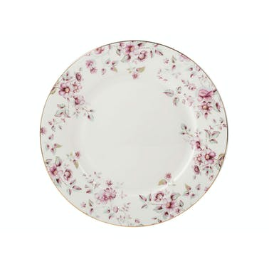 Katie Alice Ditsy Floral Dinner Plate White