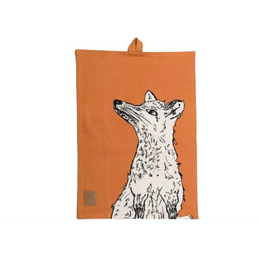 Creative Tops Into The Wild Fox Tea Towel