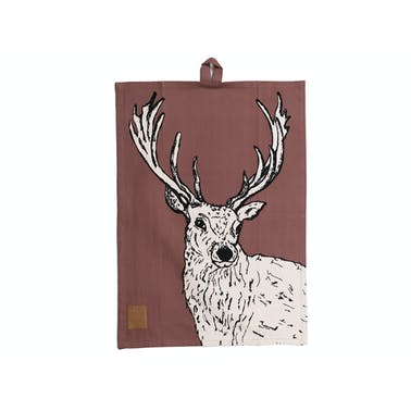 Creative Tops Into The Wild Stag Tea Towel