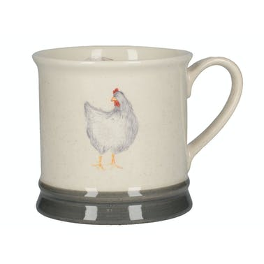 Creative Tops Feather Lane Tankard Mug Grey