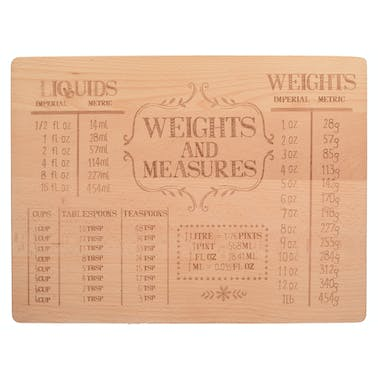 Creative Tops Stir It Up Beech Wood Etched Board