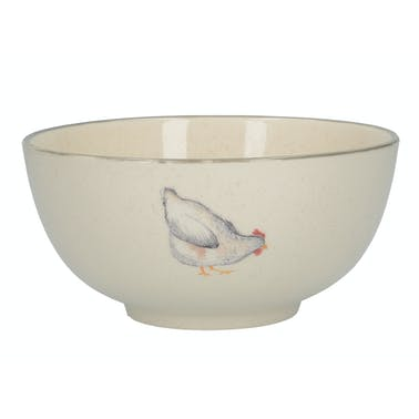 Creative Tops Feather Lane Chicken Cereal Bowl