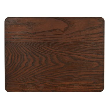 Creative Tops Naturals Pack Of 4 Wooden Placemats Brown
