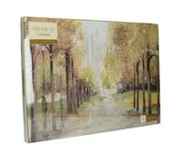 Creative Tops Central Park Set Of 4 Large Premium Placemats