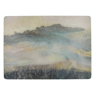 Creative Tops Lustre Mineral Pack Of 4 Large Premium Placemats