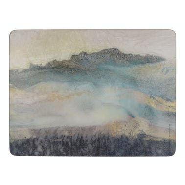 Creative Tops Lustre Mineral Pack Of 6 Premium Placemats