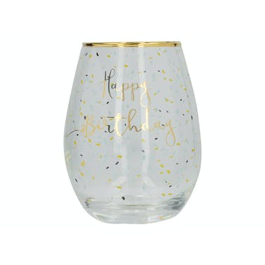 Creative Tops Ava & I Birthday Stemless Wine Glass