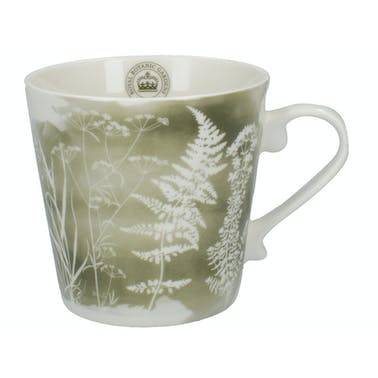 Kew Gardens Richmond Watercolour Meadow Squat Mug Green