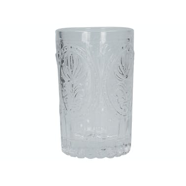Katie Alice The Collection Stemmed Embossed Tumbler Clear