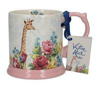 Katie Alice Blooming Fancy Giraffe Tankard Mug