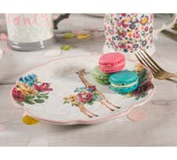 Katie Alice Blooming Fancy Giraffe Side Plate