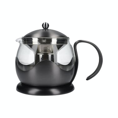 La Cafetiere Edited 4 Cup Le Teapot Gun Metal Grey