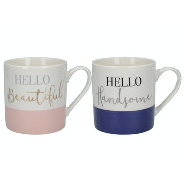 Creative Tops Ava & I His And Hers Set Of 2 Can Mugs