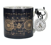 Creative Tops Earlstree & Co I'll Be On My Bike Wide Can Mug